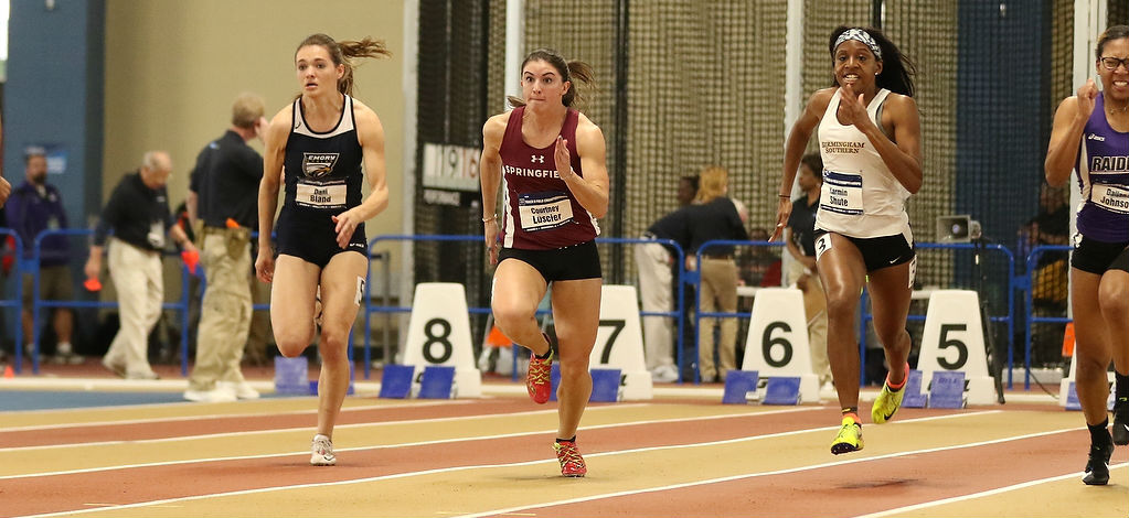 Luscier Breaks Program Record in 60 Meter Dash at NCAA Division III Indoor Track and Field Championships