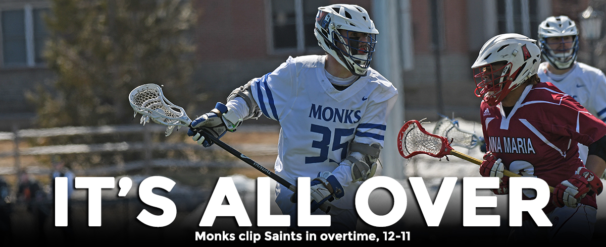 LaRoche Nets Double-OT Winner to Lift Monks Past Saints, 12-11