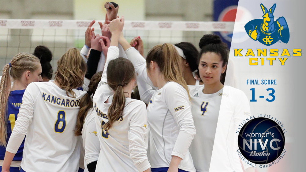 Kansas City Falls 3-1 to UNLV in First Round of NIVC
