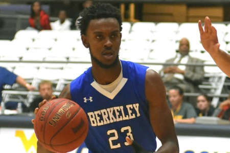 Midway University defeats Berkeley 99-74 to send Knights to 0-2; Freshman Daquan Jackson sensational despite the loss (21 points, 13 rebounds, two blocks)