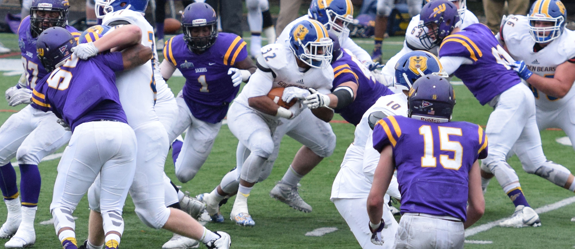 NCAA Tournament: Second Half Comeback Falls Just Short as Saxons Hold off Golden Bears, 30-24
