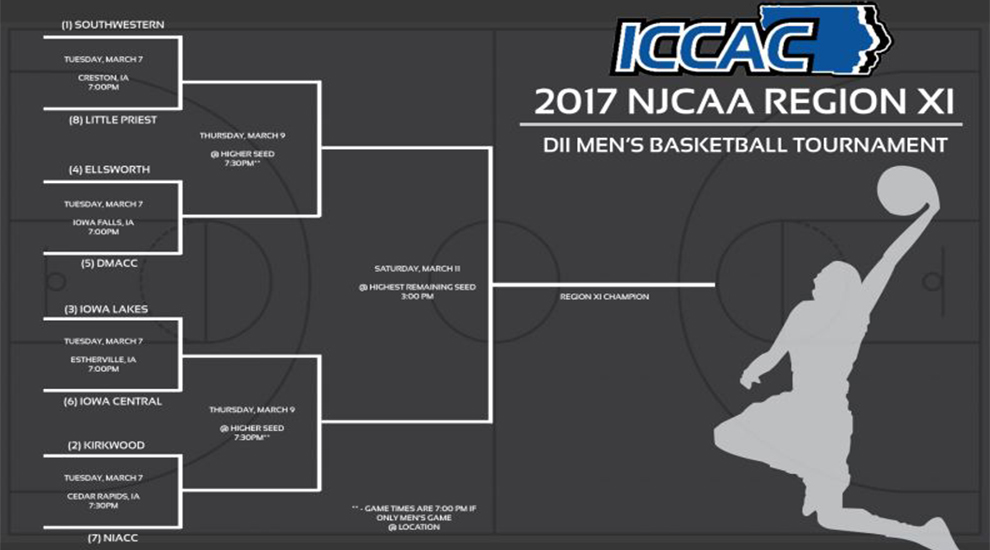 Photo for Men's Region XI Tournament Brackets Released