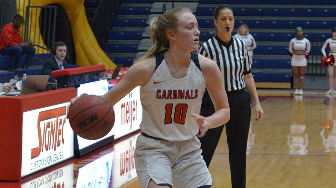 Women's Basketball drops 57-42 home matchup to #4 Grand Valley