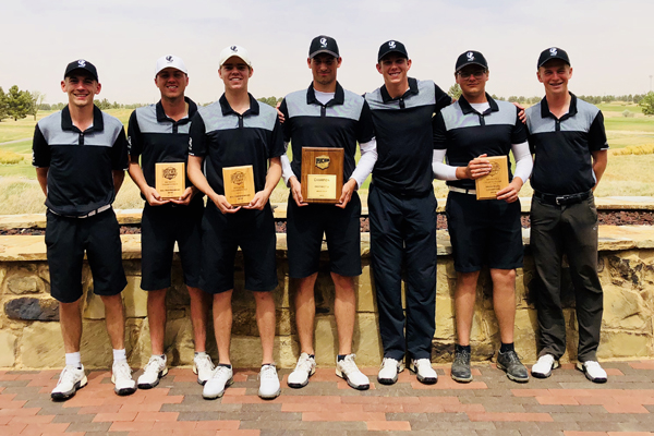 Odessa men's golf wins District 2 Championship