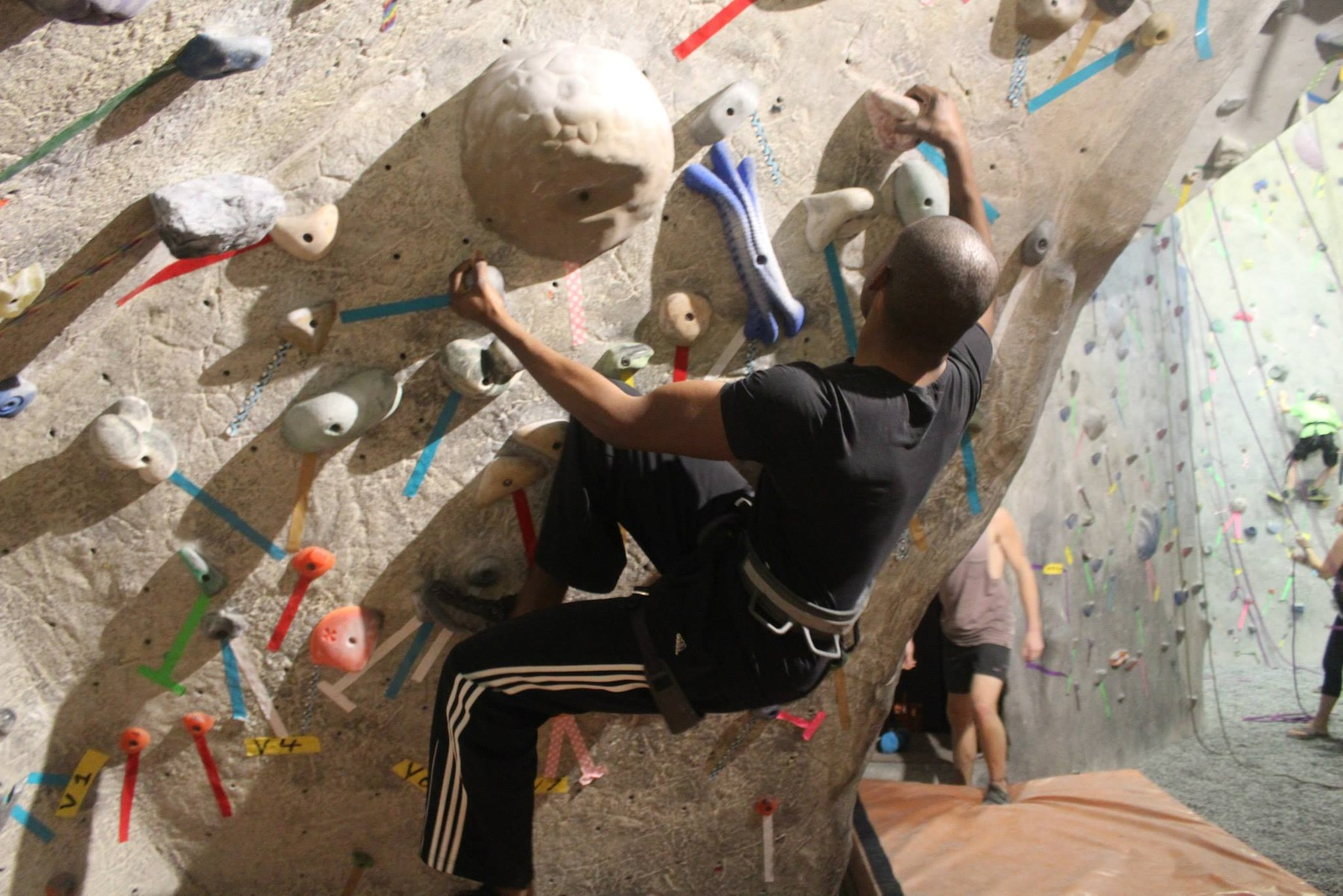 Indoor Rock Climbing VIU Outdoor Recreation