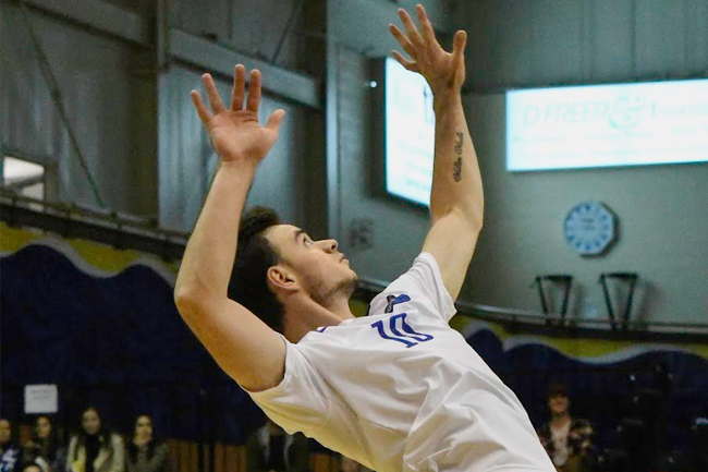 MEN'S VOLLEYBALL WIN SIXTH STRAIGHT GAME