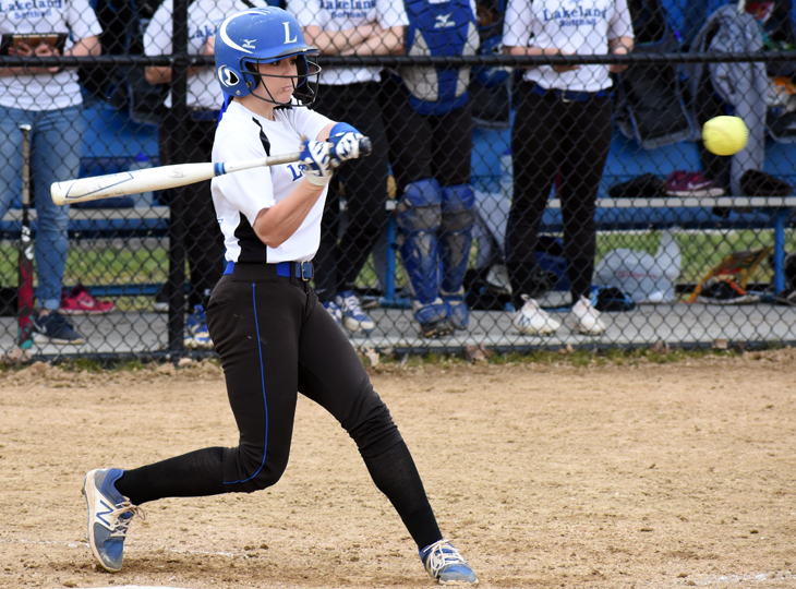 Late RBI by Justine Barnes helps Lakers past Northwestern Ohio JV in second game, 4-3