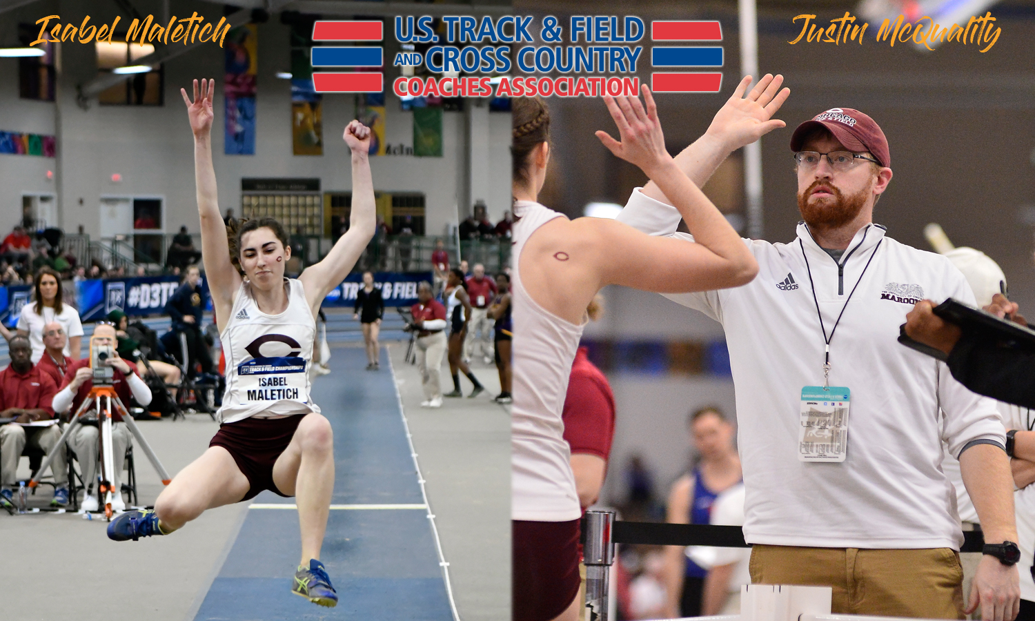 Maletich and McQuality Garner USTFCCCA Regional Awards