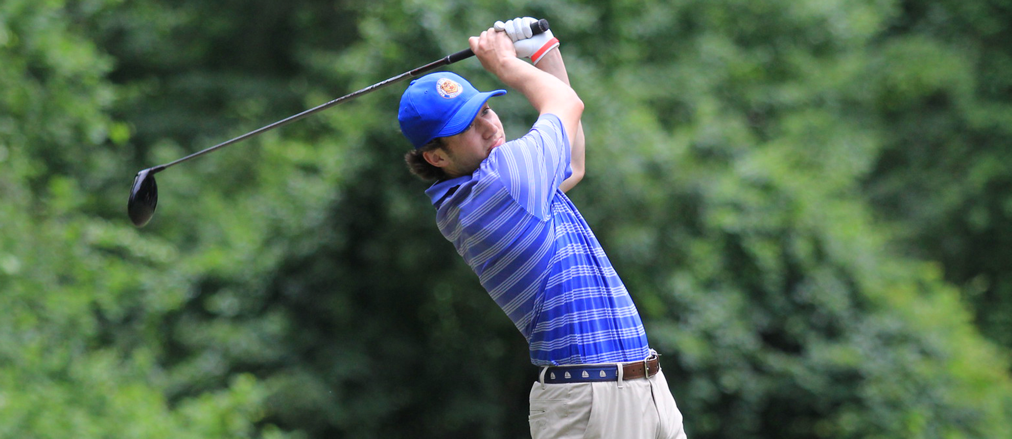 Ryan Zogby is tied for 4th place after the opening round of the UMass Dartmouth Invitational with a score of 76 (+4).