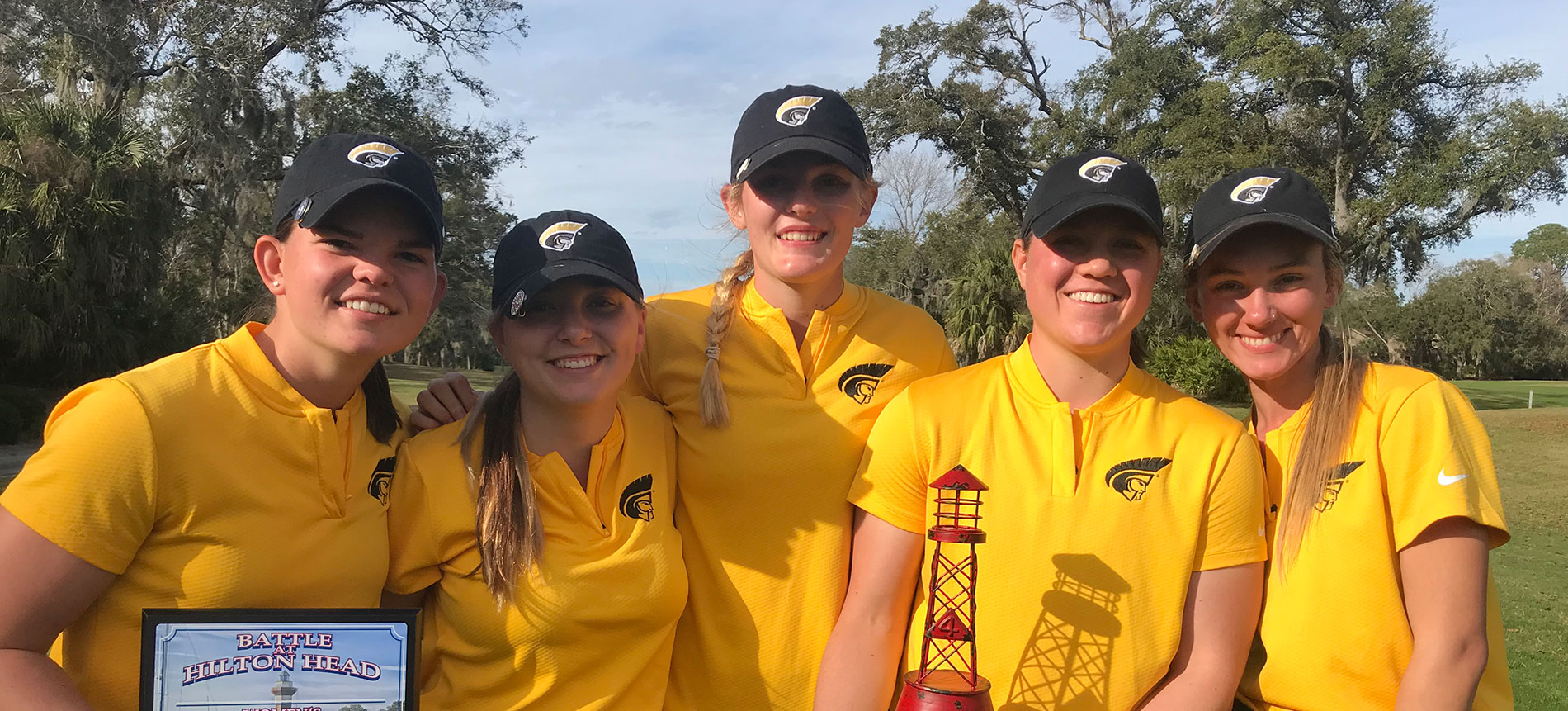 Women's Golf Finishes Second at Battle at Hilton Head