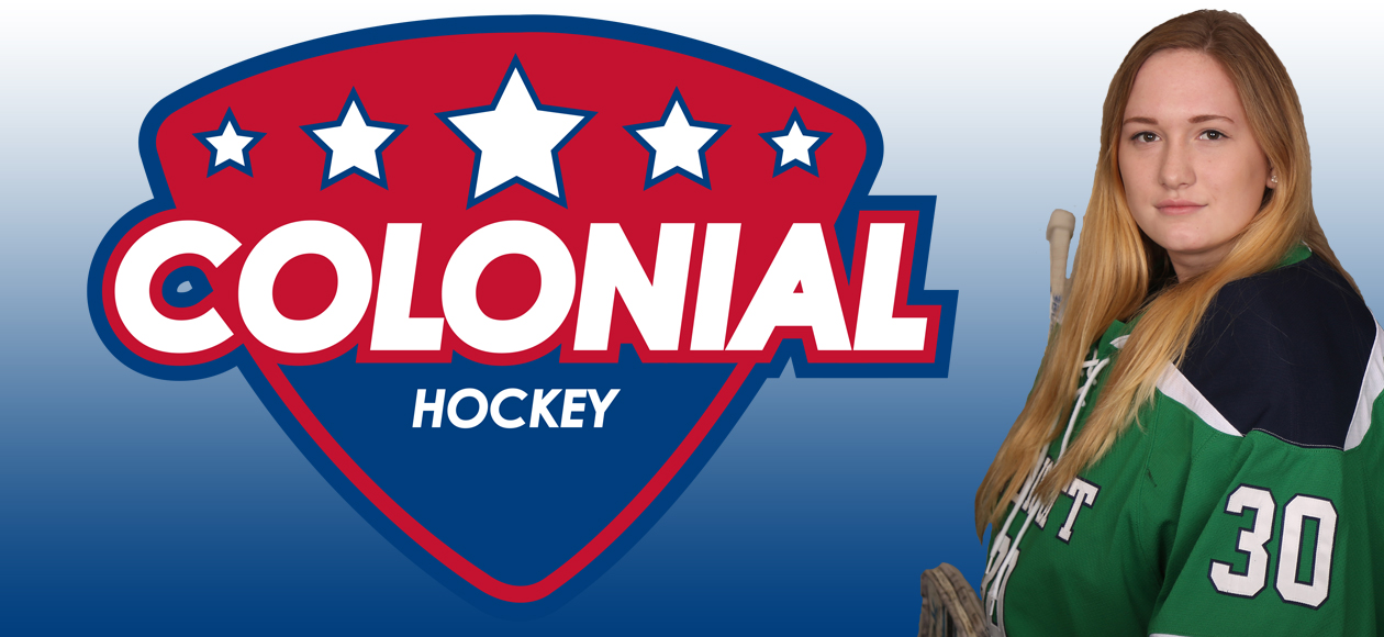 Alyssa Peterson Named CHC Co-Goaltender Of The Week