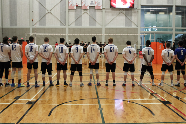 GRIZZLIES MEN'S VOLLEYBALL FALL JUST SHORT OF A MEDAL
