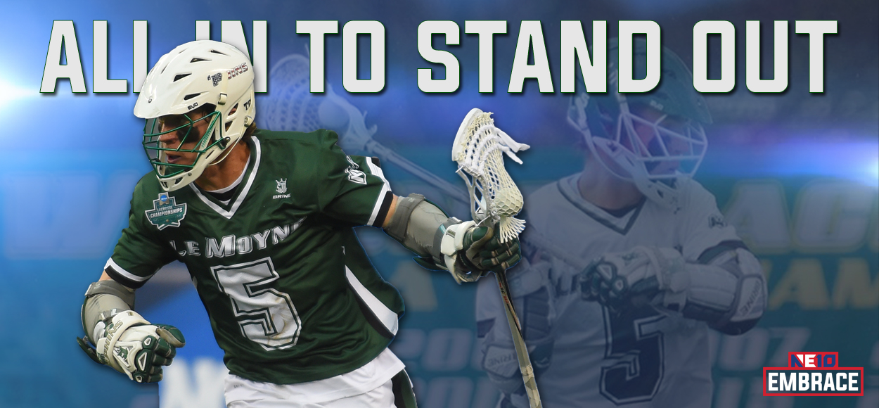 Le Moyne's Justin Kesselring Tabbed NE10 Player of the Year as League Announces Men's Lacrosse Awards