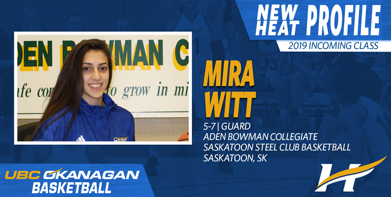 Mira Witt, Saskatoon guard, commits to Heat women's basketball