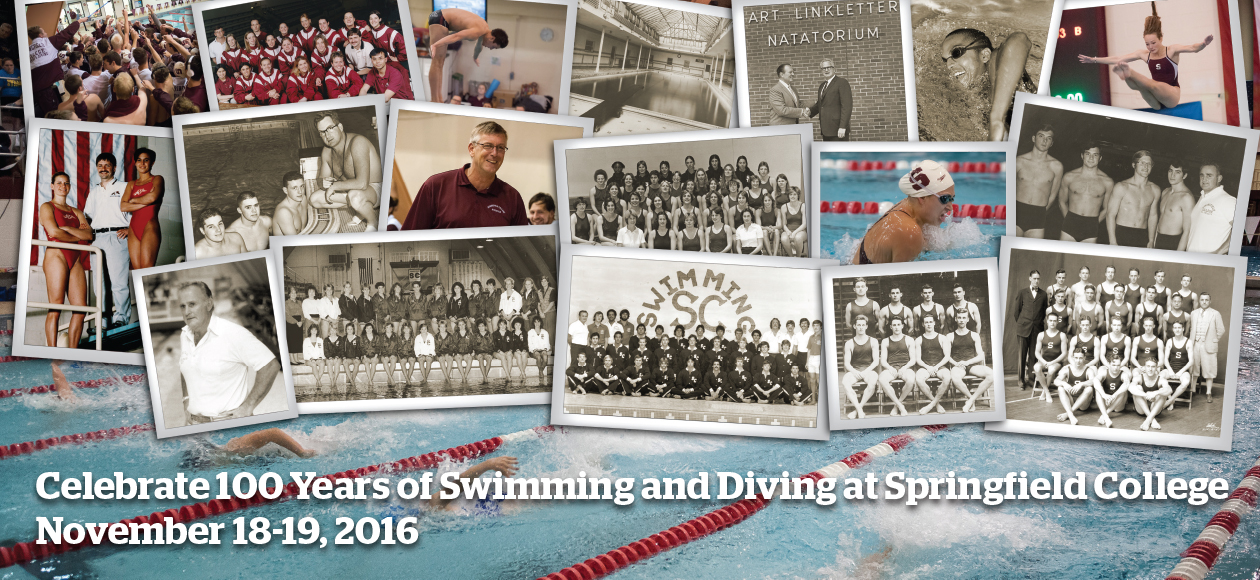 Springfield College to Host 100 Years of Swimming and Diving Celebration November 18-19