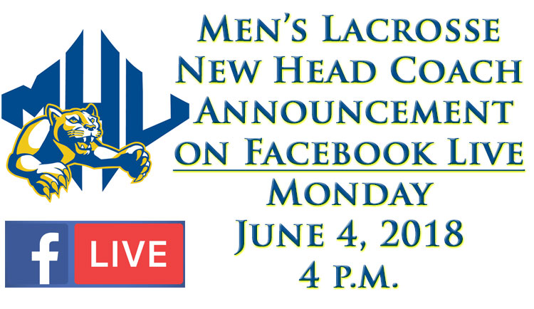 Lions to Announce New Head Men's Lacrosse Coach