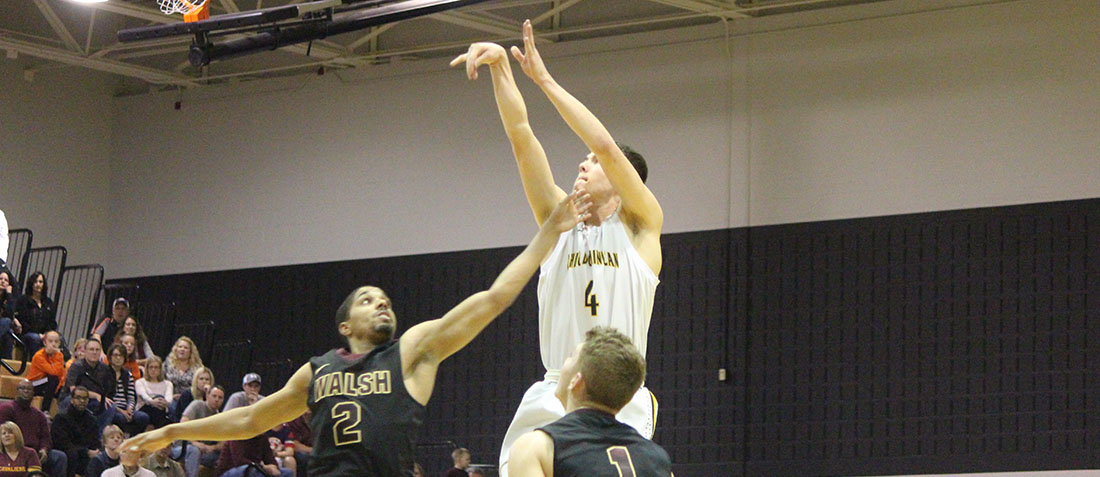 Men's Basketball Falls 87-76 To Lake Erie