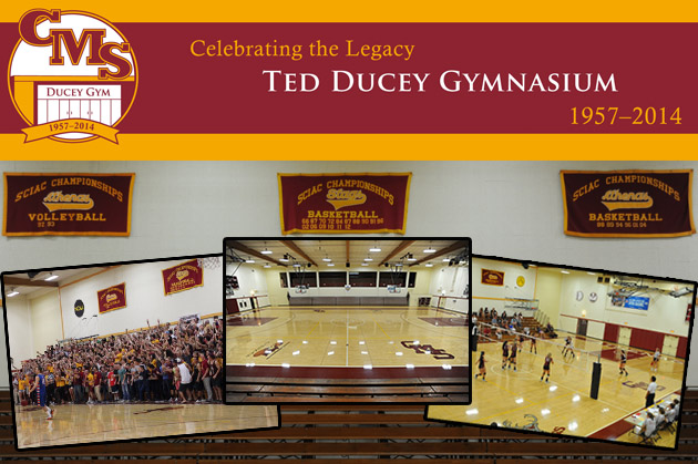 CMS Athletics to honor Ted Ducey and Ducey Family prior to games on Feb. 19 and 20