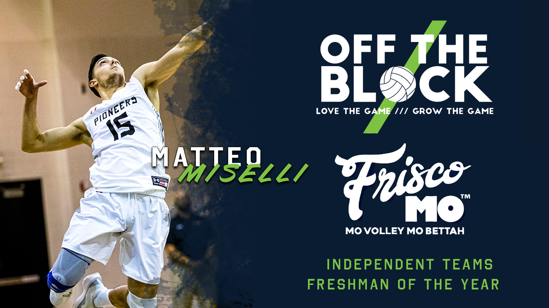 Miselli Named Off the Block/Frisco Mo Independent Teams Freshman of the Year