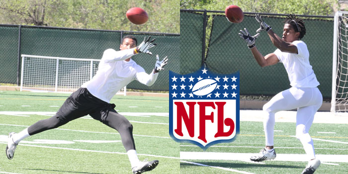 Tillman and Fooks tryout at NFL Combine