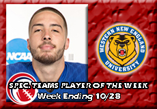 Valentin Wagner-Western New England, CCC Football: Special Teams Player of the Week