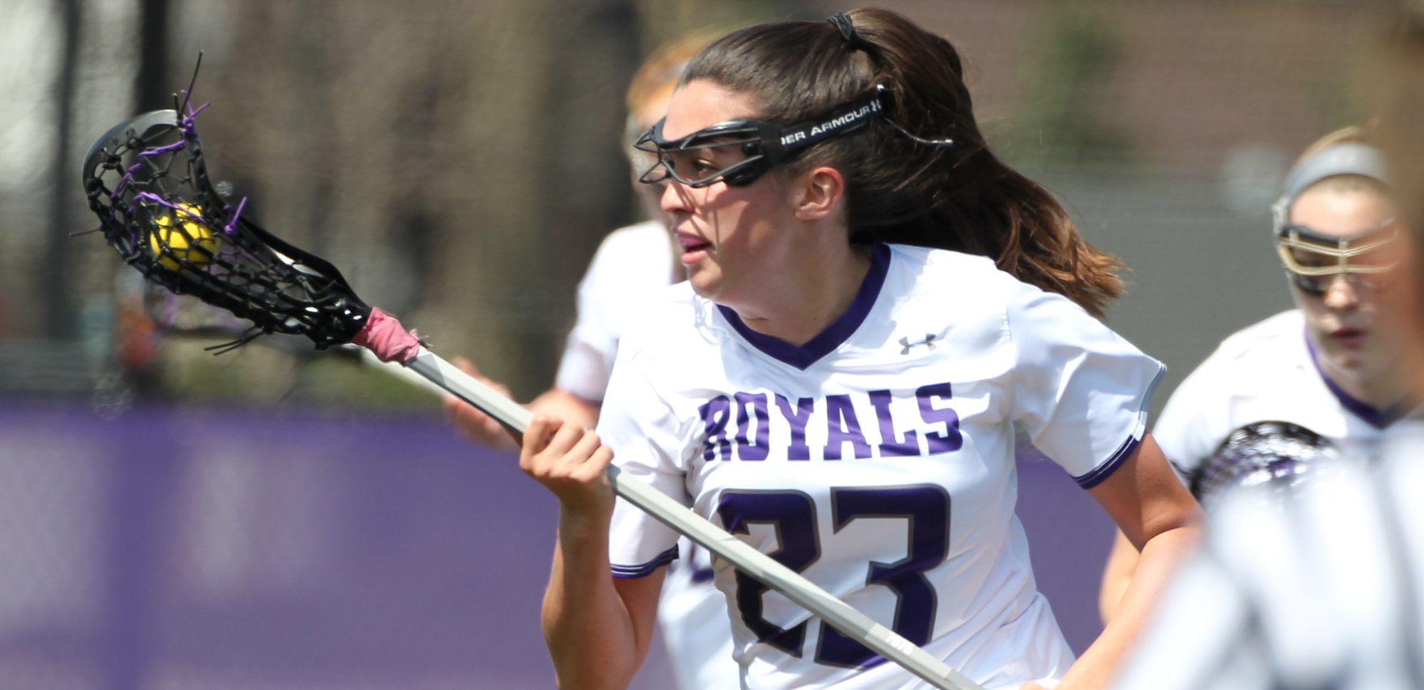 Senior Kate Calabro of The University of Scranton women's lacrosse team was named Landmark Conference Athlete of the Week along with seven other senior women's lacrosse players from around the conference.