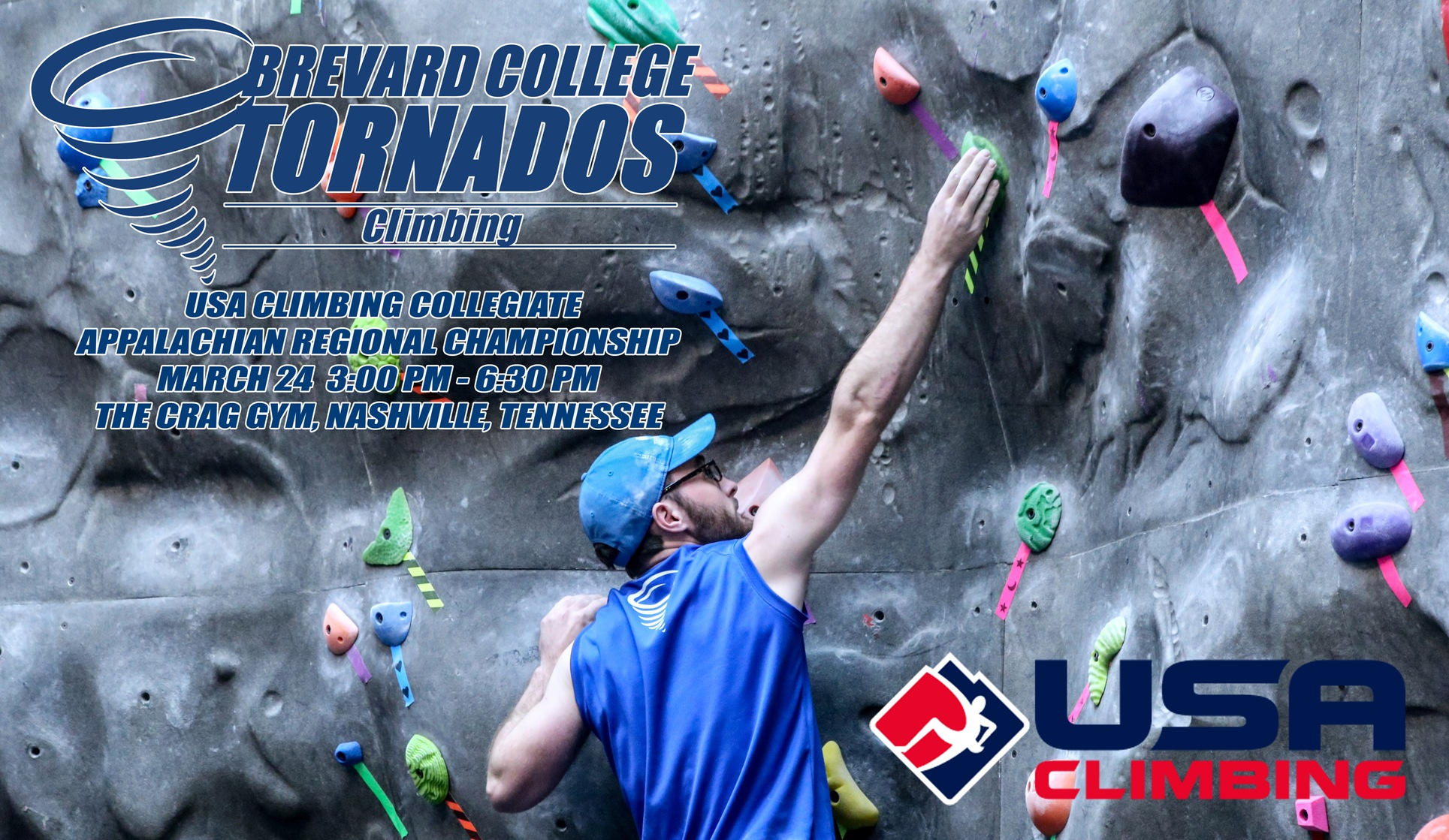Rock Climbing Heads to Nashville for USAC Regional Championship