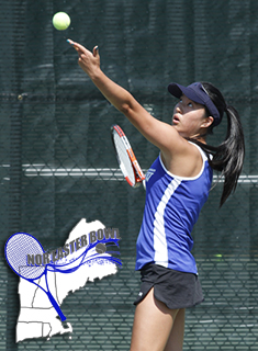 Wellesley Tennis Opens Play at Nor'Easter Bowl