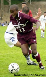 Jamil Walker Named WCC Men's Soccer Player of the Week