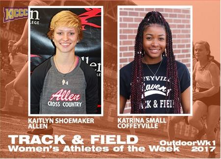 2017 Outdoor T&F Athletes of the Week, Women, Week 1