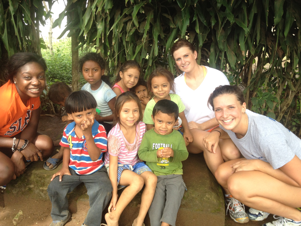 Serving Him in Nicaragua: Eagle volleyball on a mission, Day 2