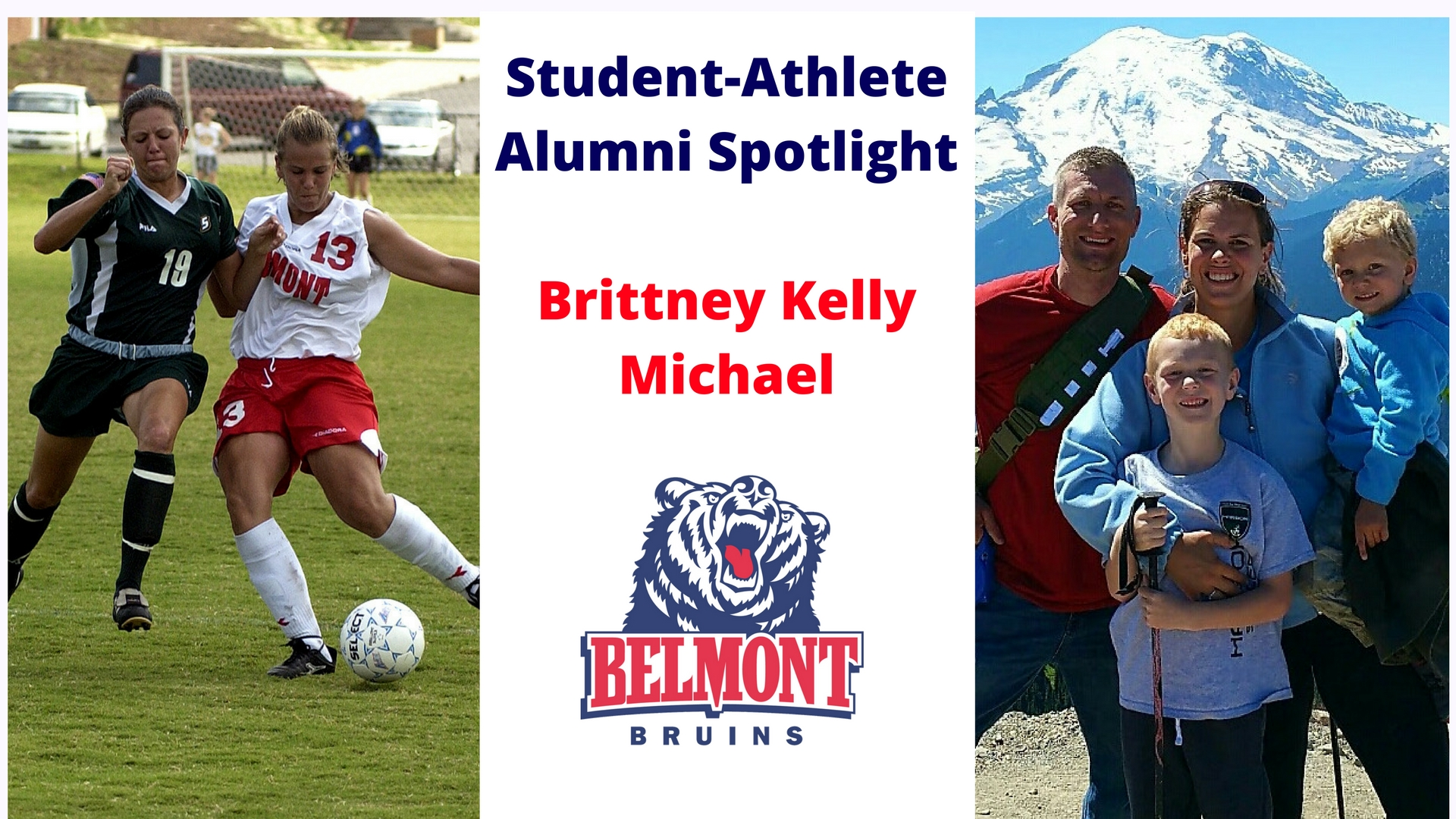 Student-Athlete Alumni Spotlight - Brittney Kelly Michael