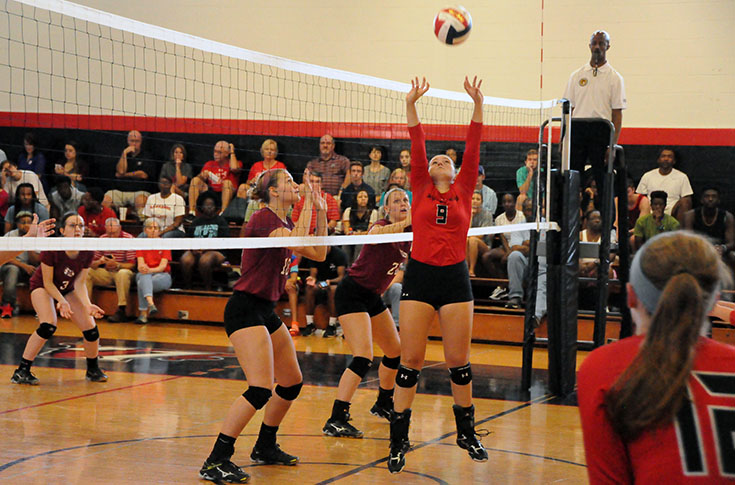 Volleyball: Panthers fall to N.C. Wesleyan and Meredith in USA South matches