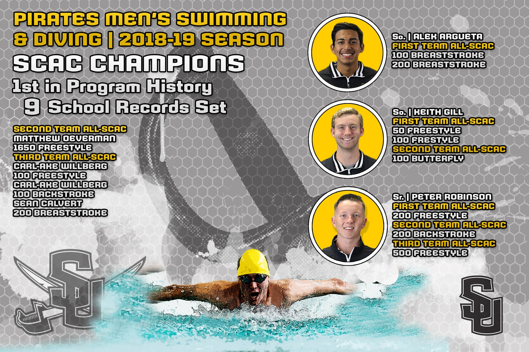Men's Swimming and Diving Recap: Champions At Last