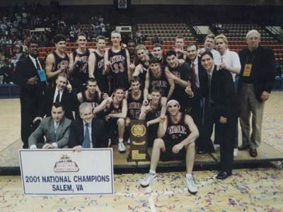 CUA celebrates 10-year anniversary of National Championship