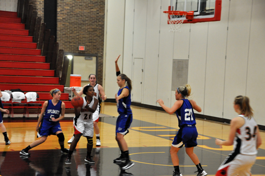 Women's Basketball rallies for 65-55 win over Dickinson