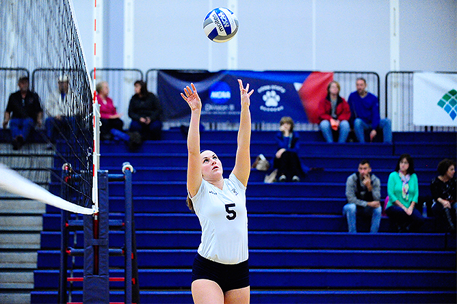 Fredonia Rallies Past Women's Volleyball
