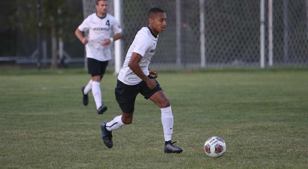 Men's soccer rolls to 7-0 win over Eureka