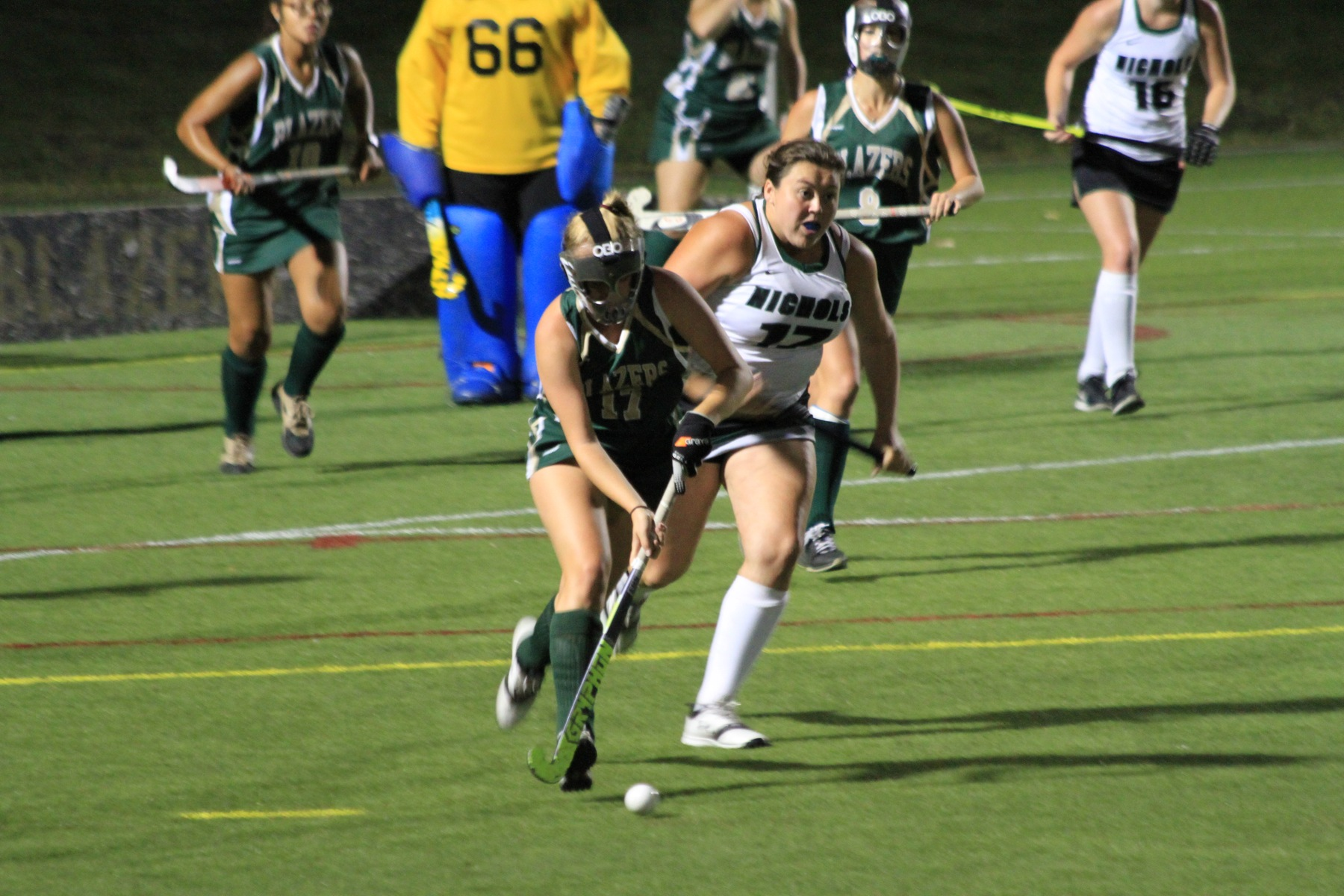 Nichols Defeats Field Hockey