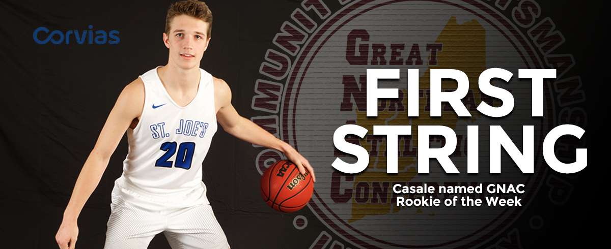 Casale Tabbed as GNAC Rookie of the Week