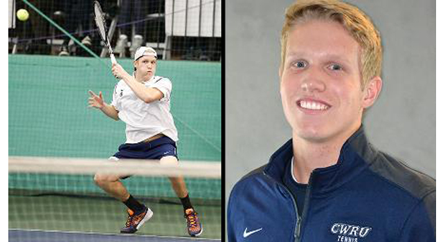 CJ Krimbill of CWRU Selected to Receive Prestigious NCAA Postgraduate Scholarship