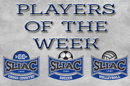 SLIAC Names Players of the Week for Sept. 16th