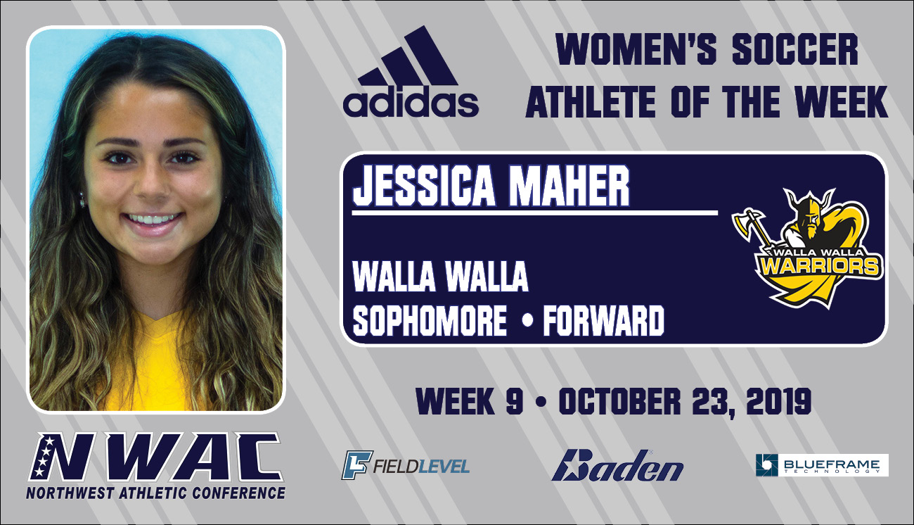 Adidas Athlete of the Week graphic for Jessica Maher