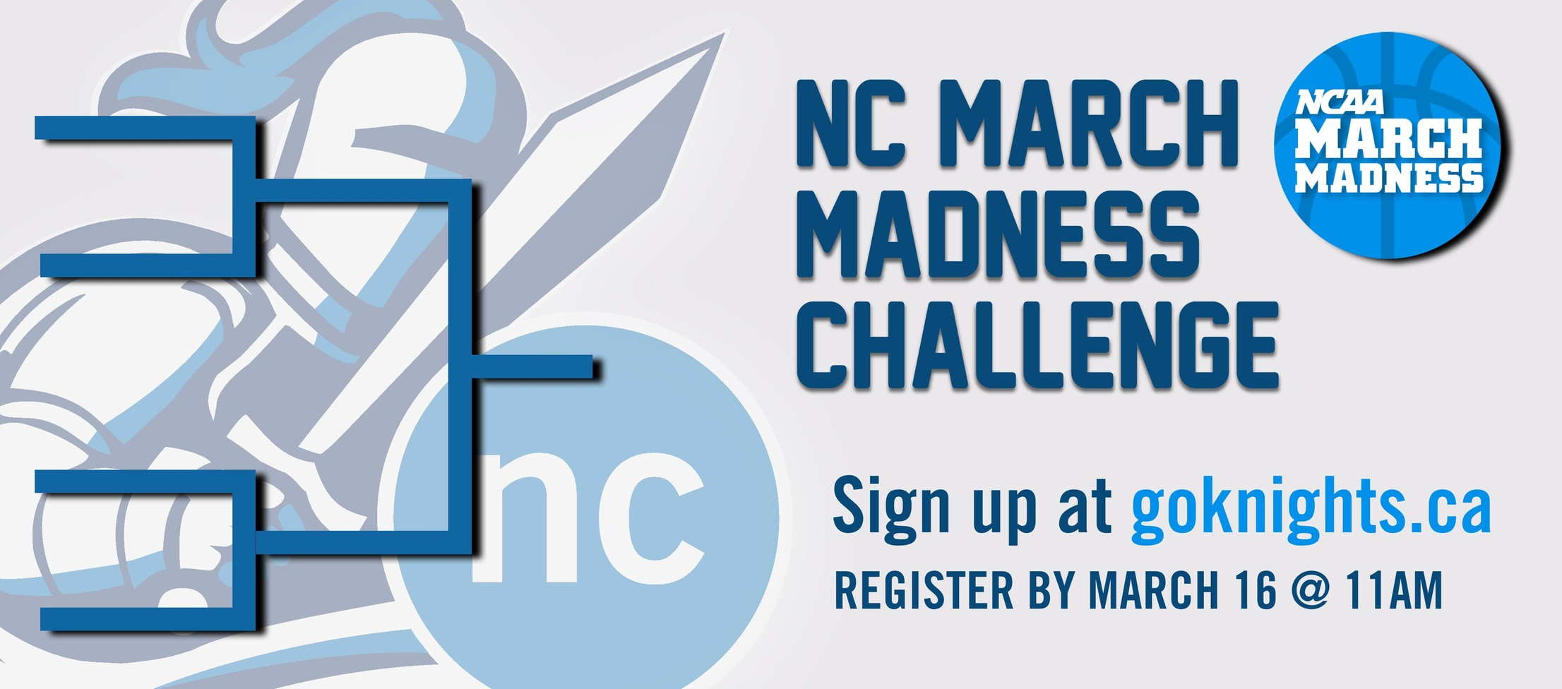 SIGN-UP for NC March Madness