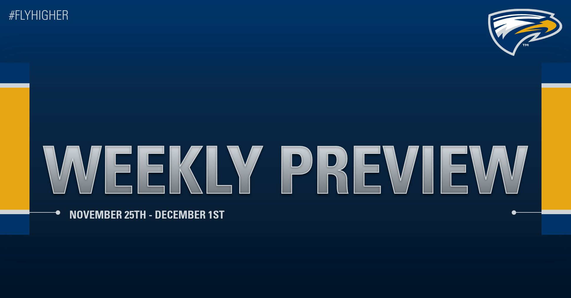 Emory Athletics Weekly Preview - November 25th - December 1st