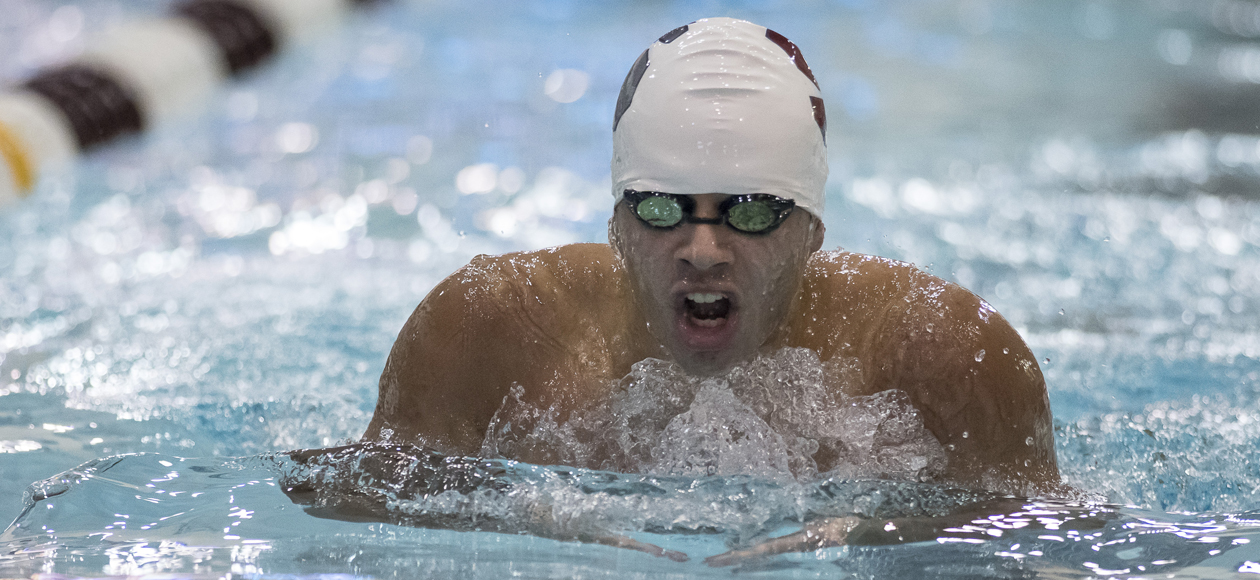 Babson Edges Men's Swimming and Diving, 164-130