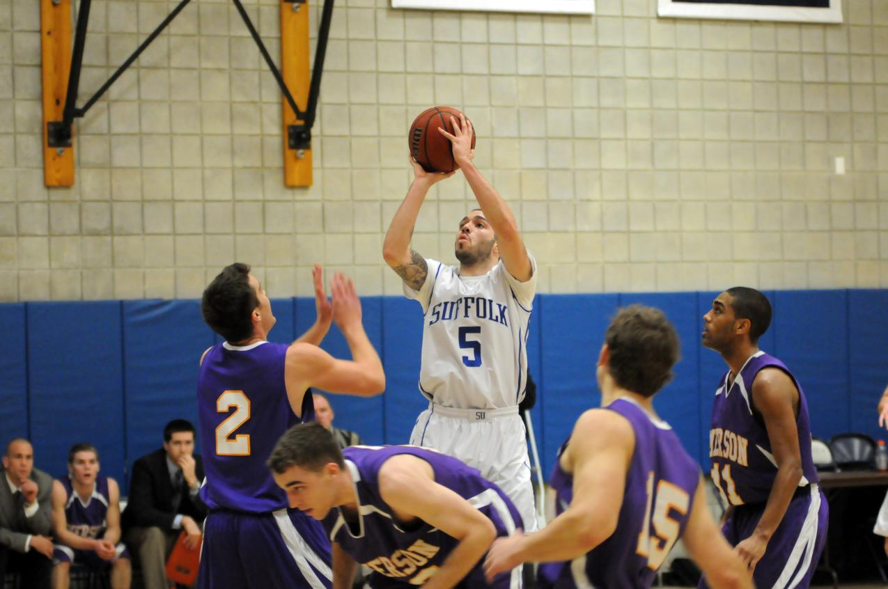 Chris Torres Records 1,000th Career Point In Men's Basketball Setback