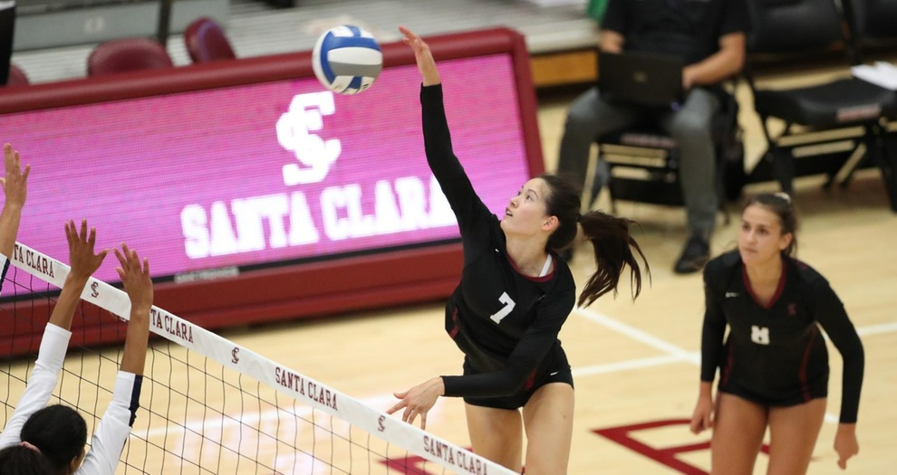 Volleyball Drops a Heartbreaker to UC Davis in Tournament Finale