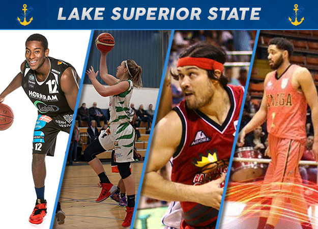 Lake Superior State Hoops Alumni Make Mark in the Pros