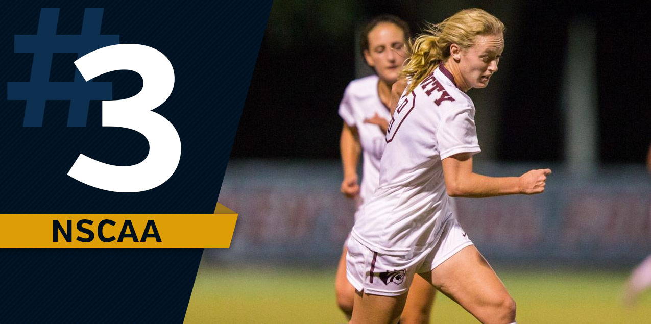 Trinity Women's Soccer Stays at No. 3 in NSCAA Poll
